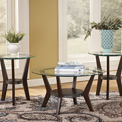 Signature Design by Ashley ® Fantell 3pc Occasional Table Set Coffee Table Set