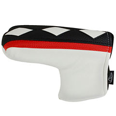 Hot-Z  L-Shape Putter Cover - Two Tone White/Black/Red