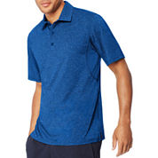 Hanes Sport Men's Heathered Performance Polo