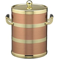 Kraftware 5-qt. Copper and Brass Ice Bucket