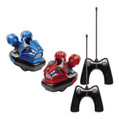 Remote Control Bumper Car Set