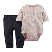 Carter's® Bodysuit and Jeggings Set - Baby Girls newborn-24m