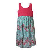 Lilt Sleeveless High-Low Sundress - Preschool Girls 4-6x
