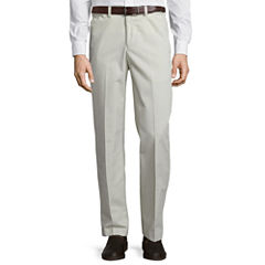 Savane® Flat-Front Khaki Pants