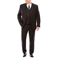 JF J.Ferrar® Black Nailhead Suit Separates - Big & Tall