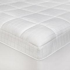 SensorPEDIC® Luxury Euro-Top Anti-Microbial Mattress Pad