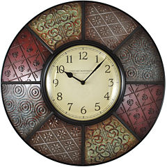 FirsTime® Patchwork Wall Clock