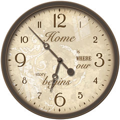 FirsTime® Sentiments Wall Clock