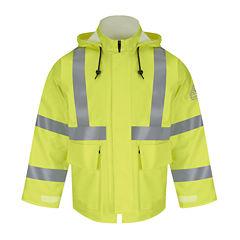 Bulwark® High Visibility Rain Jacket - Big & Tall