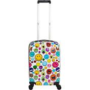 Smiley World Celebration Hardside Carry-On Luggage