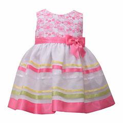 Bonnie Jean Sleeveless Empire Waist Dress - Baby Girls
