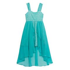 Rare Editions Sleeveless Shift Dress - Big Kid Girls