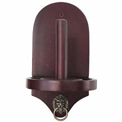 Premier Cone Chalk Holder Mahogany Finish