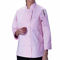 Dickies Womens Classic Chef Coat - Plus
