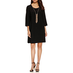 Luxology Split Sleeve Shift Dress