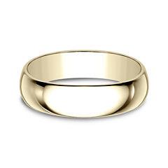 Mens 18K Gold Wedding Band