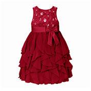 American Princess Sleeveless Empire Waist Dress - Big Kid