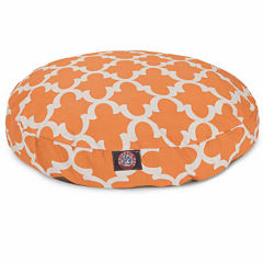 Majestic Pet Trellis Large Round Dog Pet Bed