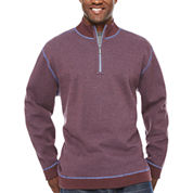 The Foundry Big & Tall Supply Co. Long Sleeve Reversible Pullover Sweater