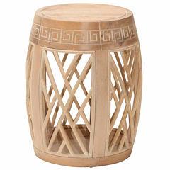 Wood Drum Table