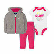 Nike 2-pc. Long Sleeve Pant Set