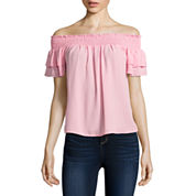 Self Esteem Woven Blouse-Juniors