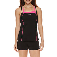 Speedo Double Strap Tankini Swimsuit Top or Swim Short