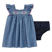 Arizona Short Sleeve Sundress - Baby