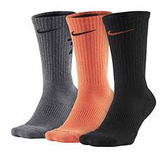 Nike® 3-pk. Dri-FIT Fly-Rise Crew Socks