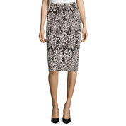 Liz Claiborne® Knit Pencil Skirt