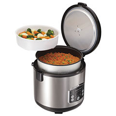 Hamilton Beach® Digital Simplicity™ Rice Cooker and Steamer
