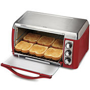 Hamilton Beach® Ensemble™ 6-Slice Toaster Oven Broiler