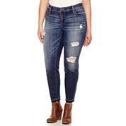 Belle + Sky Skinny Jeans-Plus