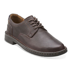 Clarks® Kyros Plain Mens Leather Loafers