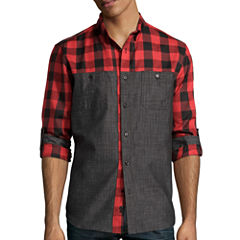 No Retreat  Long Sleeve Hucks Shirt