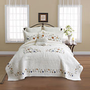Nostalgia Home Alice Embroidered Bedspread