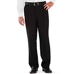 Stafford® Year-Round Pleated Pants
