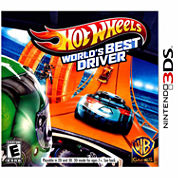 Hot Wheels Worlds Best Video Game-Nintendo 3DS