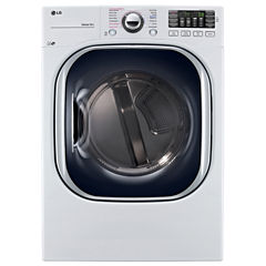 LG 7.4 cu. ft. Ultra Large Capacity TurboSteam™ Electric Dryer