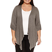 Alyx 3/4 Sleeve Cardigan Plus