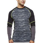 Asics® Camo Show-Off Long-Sleeve Shirt
