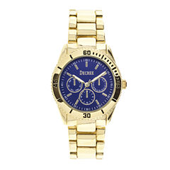 Decree® Womens Chronograph-Look Bracelet Watch