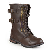 Journee Collection Cedes Womens Lace-Up Boots