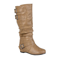 Journee Collection Tiffany Slouch Riding Boots - Wide Calf