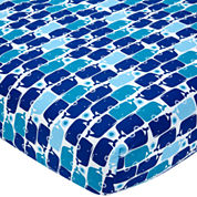 Happy Chic Baby by Jonathan Adler Party Whale Fitted Crib Sheet