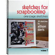 Scrapbook Generation – One-Page Sketches for Scrapbooking Vol. 1