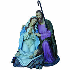 5' Giant Commercial Grade Fiberglass Holy Family Decoration Display