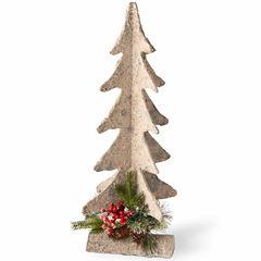 National Tree Co. 2 Foot Wood Base Christmas Tree