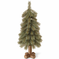 National Tree Co. 2 Foot Bayberry Spruce Blue Christmas Tree