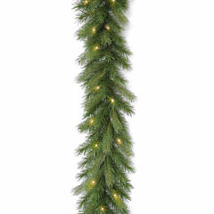 National Tree Co. Deerfield Fir Feel Real Christmas Garland